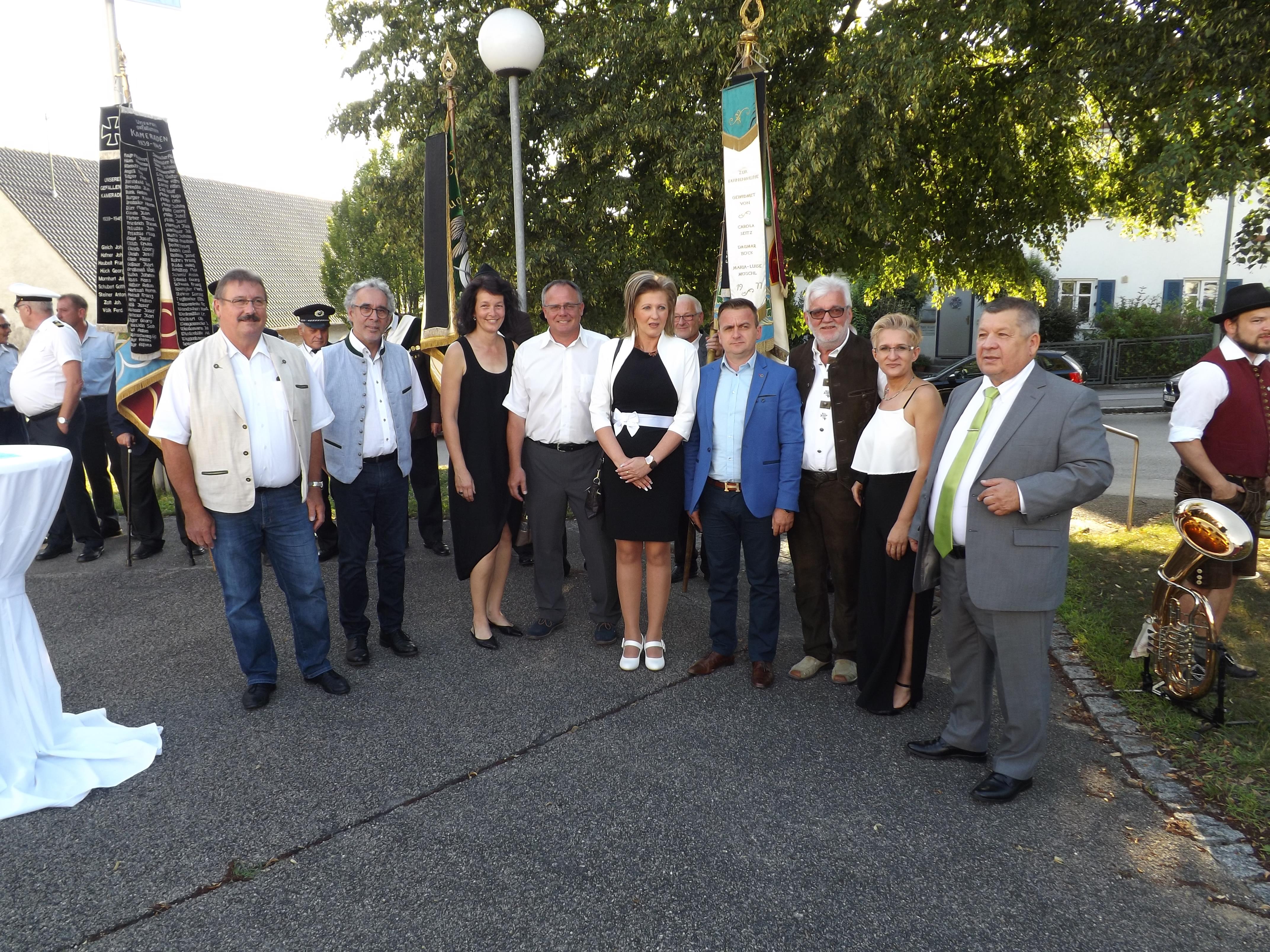 Festakt zum 20jährigen Bestehen der Partnerschaft in Dinkelscherben